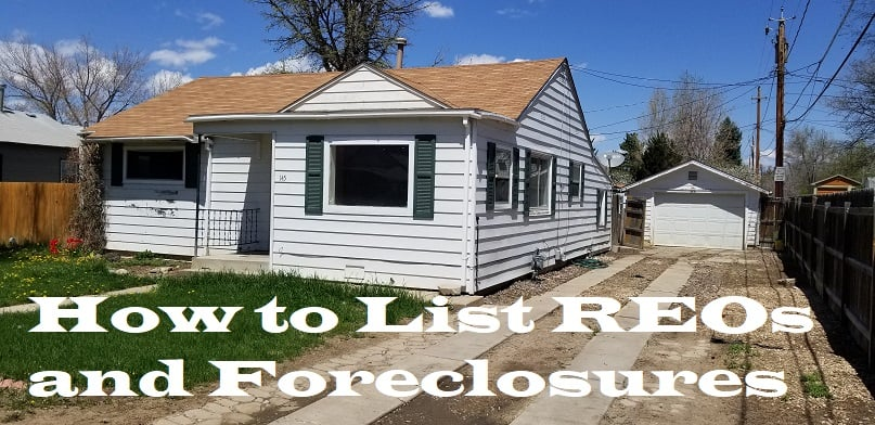 list reos and foreclosures