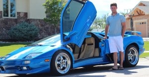 Lamborghini DIablo Monterey Blue 1999 Alpine Edition