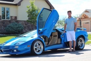 Lamborghini Diablo and Real estate