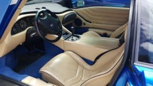 1999 Lamborghini Diablo interior