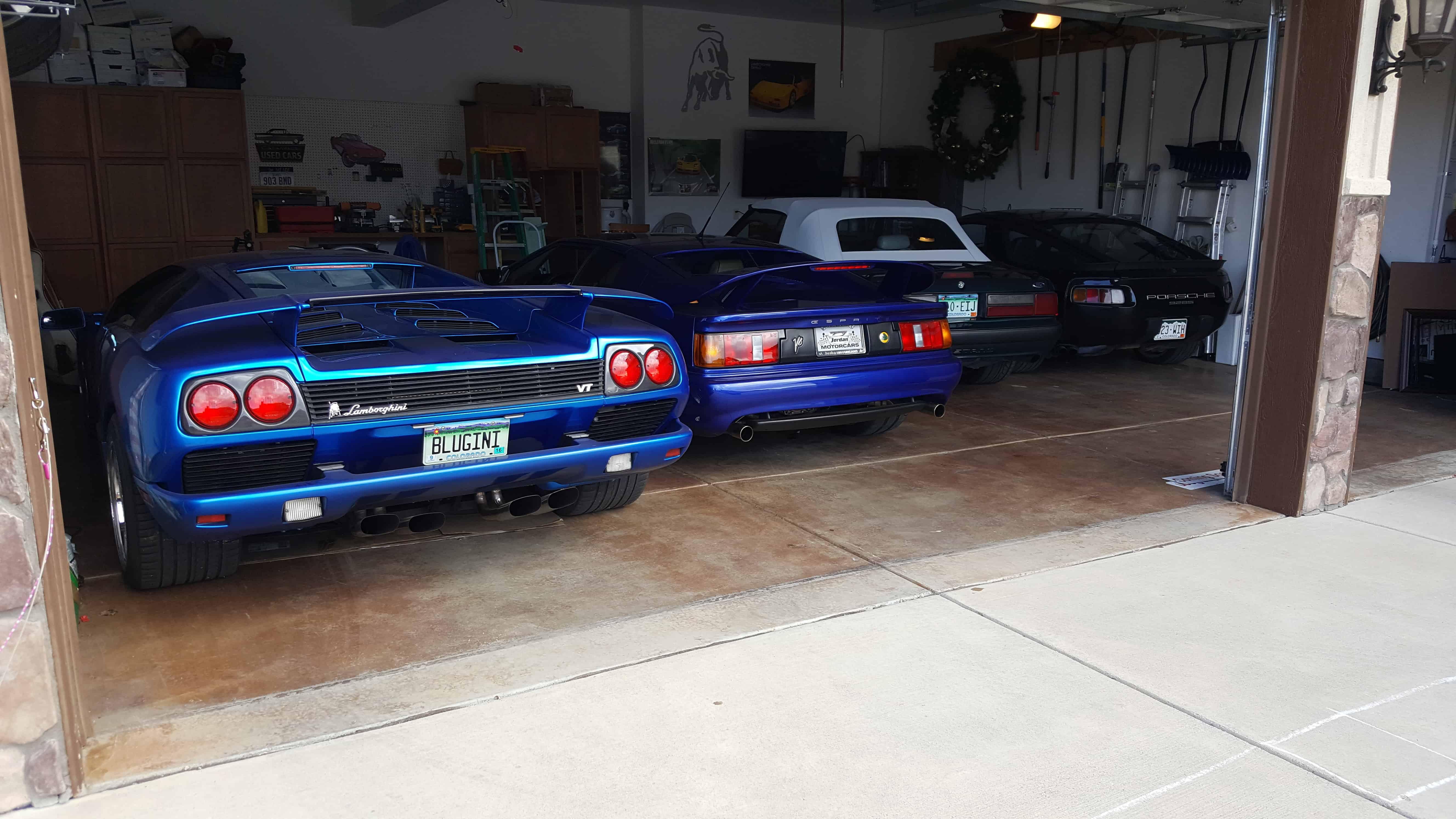 Lamborghini garage