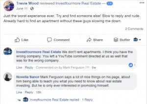 Ardor SEO fake facebook review