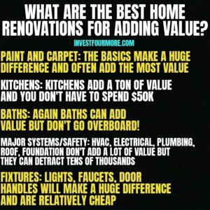 best renovations