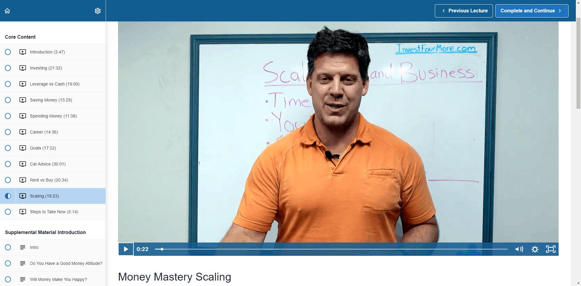 Money Mastery Screenshot