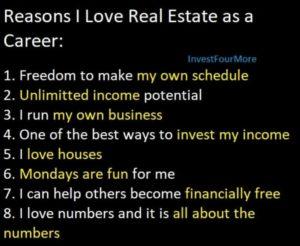 carrière dans l'immobilier