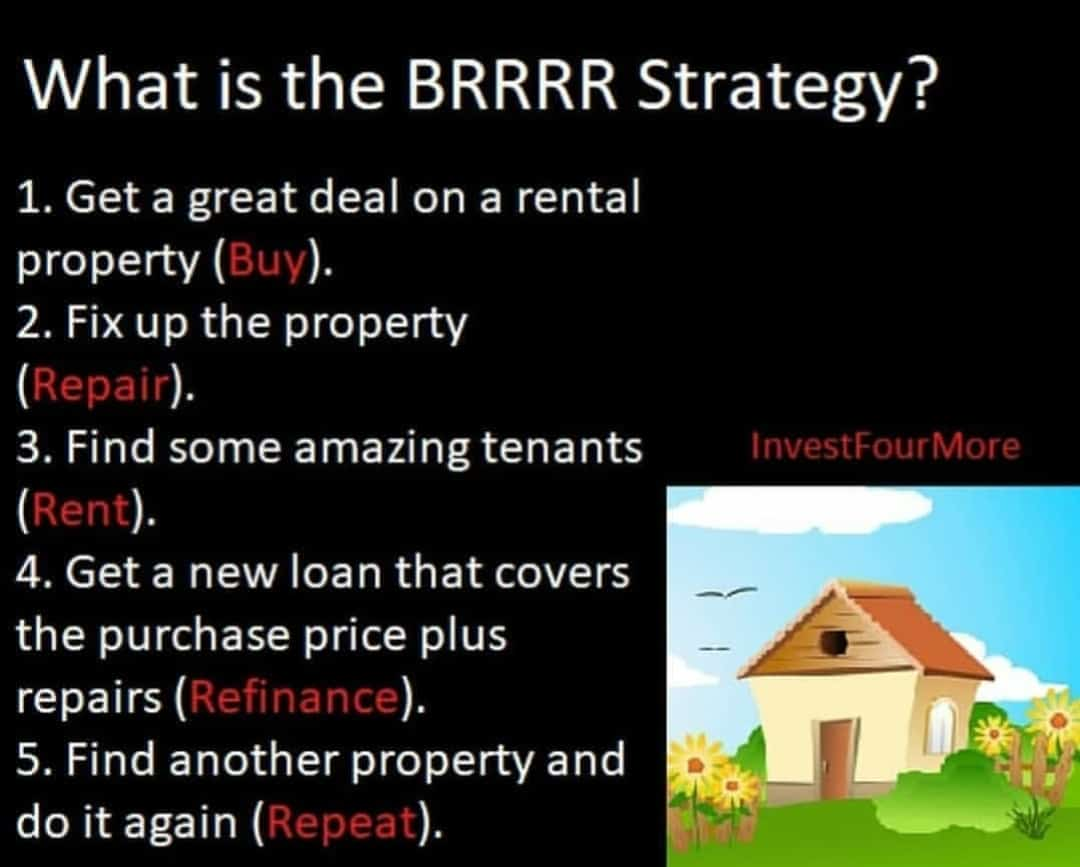 How To Use The Brrrr Method To Buy Rentals With Less Money