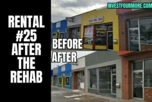 before and after commercial property