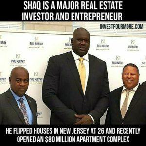 Shaq Real Estate Investing