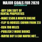 real estate goals
