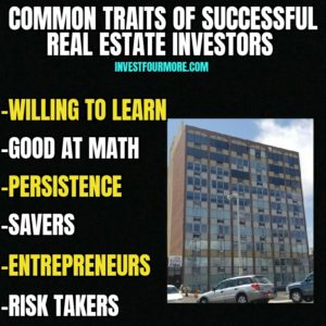 traits of successful real estate investors