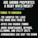 airbnb risks