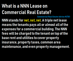 nnn lease commercial real estate