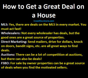 How to get a deal on an investment property