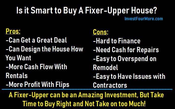 smart to buy a fixer upper