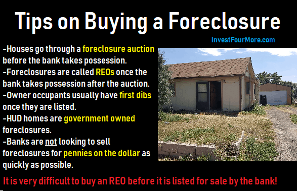 how do foreclosures work?