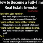 full time real estate