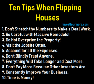 10 house flipping tips