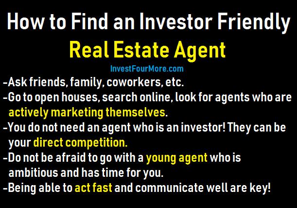 investor friendly agent