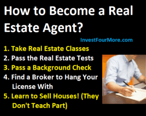 become real estate agent