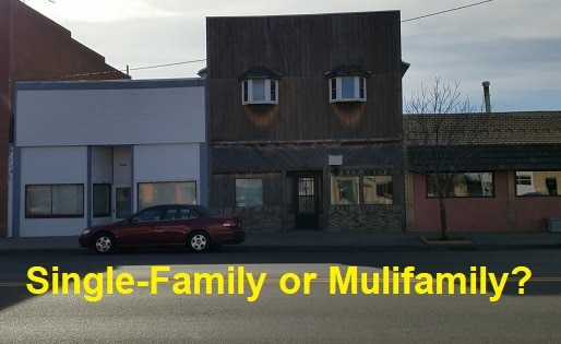 single family or multifamily