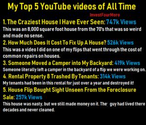 top five real estate videos