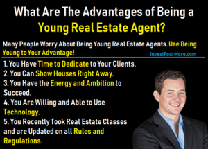 young real estate agent